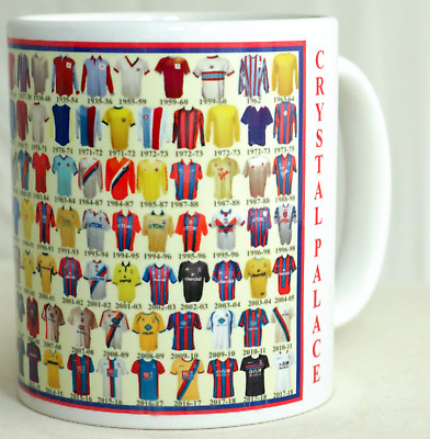 Crystal Palace Mug Football shirt history New Gift