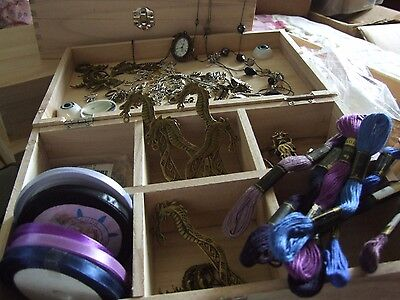 Craft Kit Box (Unfinished) Gothic Steampunk Dragon Fairy Inspired