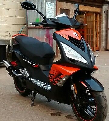peugeot speedfight 3 50cc Liquid Cooled 2 stroke darkside edition