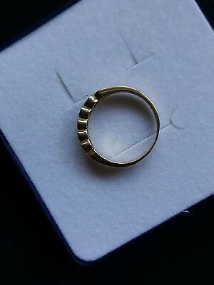 Anillo/ring De Oro Solido/solid Gold De 18Kt