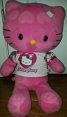 Build A Bear Sweet As Can Be Pink Hearts Hello Kitty