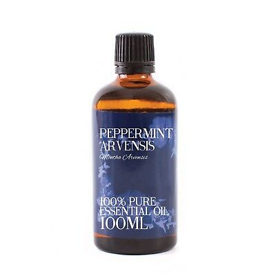 Mystic Moments | Peppermint Arvensis Essential Oil - 100ml (EO100PEPPARVE)