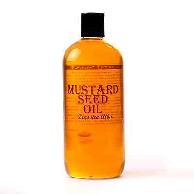 Mystic Moments | Mustard Seed Carrier Oil - 100% Pure - 500ml (OV500MUSTSEED)