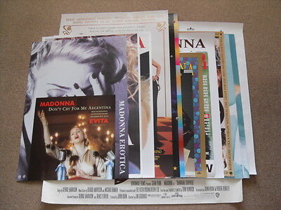 Madonna - Angel Don't Four Rooms Max Factor Immaculate Vanity Who's Promo Poster