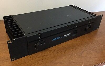 Alesis Stereo Power Amp RA-100 Reference Amplifier 100% Working See Video Demo