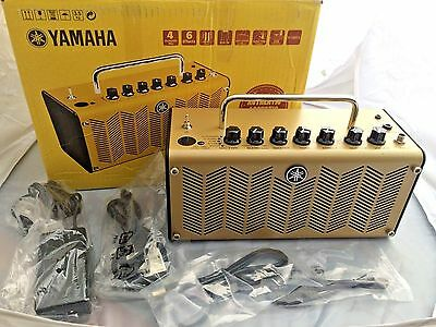 YAMAHA THR5A Mini Portable Amp in box with all cables Gold