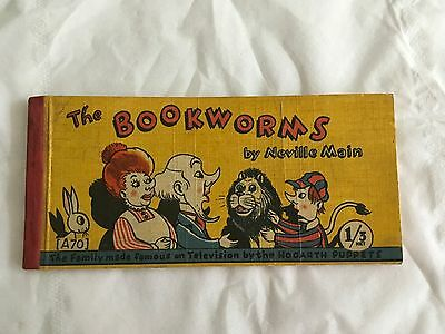 Vintage strip book, The Bookworms by Neville Main.