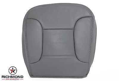 1994 1995 Ford Bronco Eddie Bauer -Driver Side Bottom Leather Seat Cover GRAY