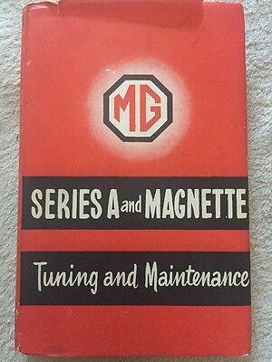 MG SERIES-A Magnette Tuning & Maintenance BOOK  MIDGET AUSTIN HEALEY SPRITE