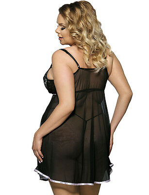 Sheer Chemise with matching g-string