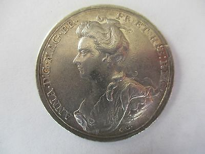 Queen Anne, 1704, The battle of Blenheim medal