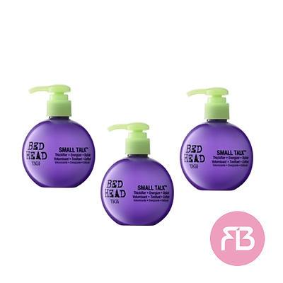 TIGI Bed Head crema volumizzante capelli Small Talk 200ml OFFERTA 3 PEZZI