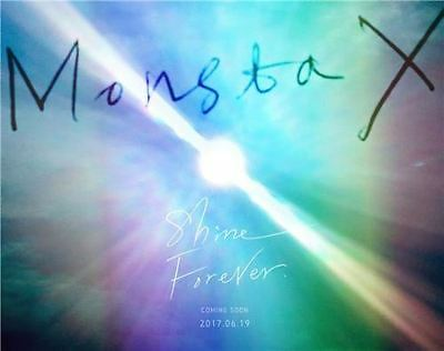 MONSTA X - SHINE FOREVER (MAIN - A VER.), CD+Photobook+photocard+Sticker+Poster