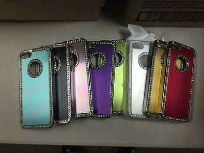 x100 Covers 100 LOT wholesale Apple iPhone SE 5 5s Rhinestone Bling Hard Cases