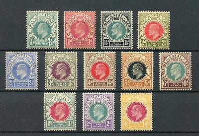 South Africa Natal 1902-03 short set to 4s SG127/39(exc 2/6)MM cat £177 see desc