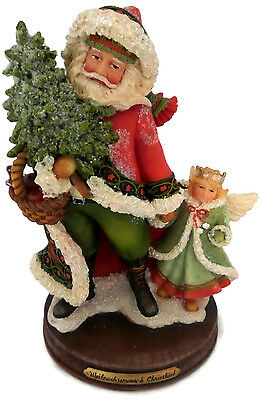 Santa Child Angel Christmas Heritage Holiday Figurine Betty Singer Collection