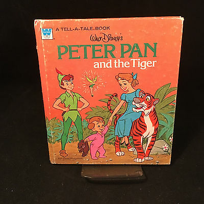 Whitman Tell-a-Tale Disney's Peter Pan and the Tiger