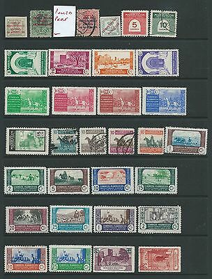 Spain Morocco Interesting Lot Mh Used Two Scans