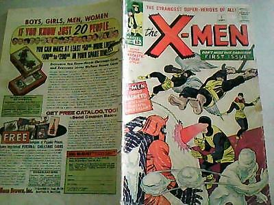 UNCANNY X-MEN #1  Sept 1963    1st  EVER.    CENTS COPY!