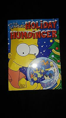 The Simpsons Holiday Humdinger Comic Special Paperback Book (2004)