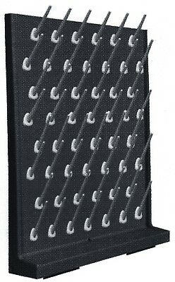 Laboratory drying rack, Peg Board, Rack Polypropylene