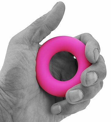 Senshi Japan Hand Grip Gripper Round Easy Carry Forearm Exercise Gym Stress Ball