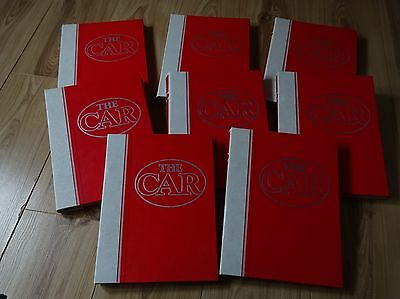 The Car magazine 1980's complete collection in binders