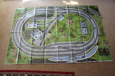 HORNBY 00 GAUGE 6' x 4' TRACK MAT UNUSED EX TRAIN SETS