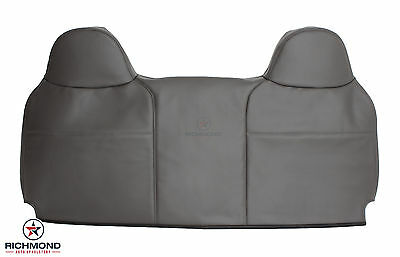 2008 2009 2010 Ford F250 F350 F450 F550 XL-Lean Back Vinyl Bench Seat Cover Gray