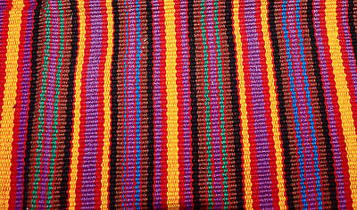 Handmade Tapestry - table runner - tortilla wrap from Guatemala bright colors!
