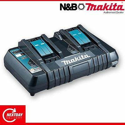 Makita Dc18Rd Twin Port 18V Charger 240V 3.0Ah - 5.0Ah With Usb Port Brand New