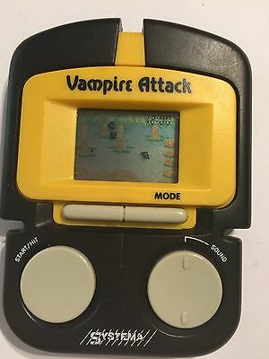 VAMPIRE ATTACK RETRO LCD SCREEN Electronic HANDHELD GAME By SYSTEMA