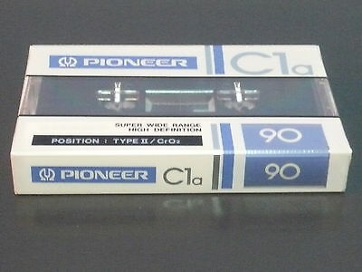 cassette tape vintage rare:  Pioneer Chrome C1a 90  new and sealed