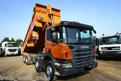 2011 Scania P360 8X4 Steel Body Tipper Truck Tipping Unit Tipper Thompsons Body