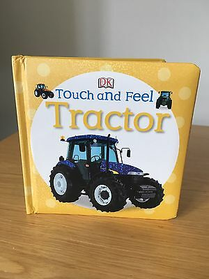 DK Tractor Touch And Feel Book