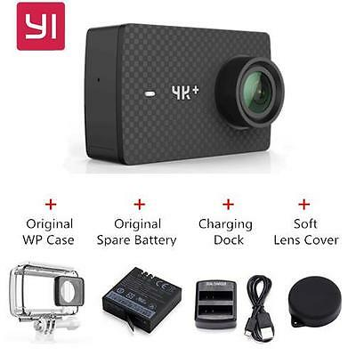 NEW 2017 Xiaomi YI 4K+ plus Action Camera 4K 60fps + FREE Accessories Pack