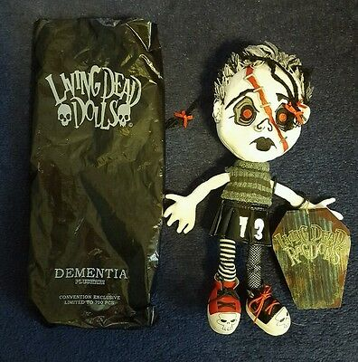 Living Dead Dolls Ragdolls Variant Dementia L.t.d/ 700 Made Convention Exclusive