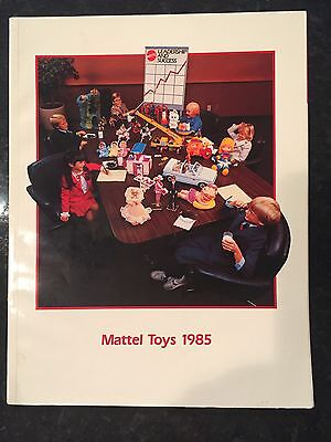 Vintage  Mattel Toys 1985 Advertising Catalog   He-Man / Barbie / Hot Wheels