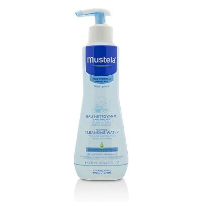 Mustela No Rinse Cleansing Water - Face & Diaper Area 300ml Womens Skin Care