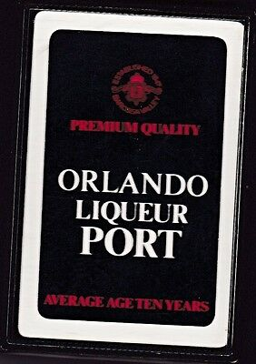 ORLANDO LIQUEUR PORT VINTAGE PLAYING CARDS ~ OPENED but NEVER PLAYED WITH