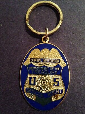 IRS Criminal Investigation Special Agent Key Chain