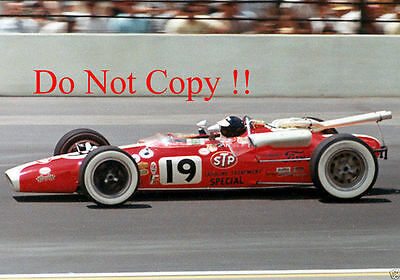 Jim Clark STP Lotus Ford 38/4 Indianapolis 500 1966 Photograph 6