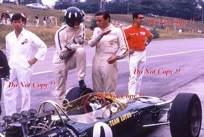 Jim Clark & Graham Hill Lotus 49 Canadian Grand Prix 1967 Photograph