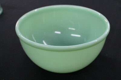 vintage Anchor Hocking jadeite small green glass mixing bowl #1