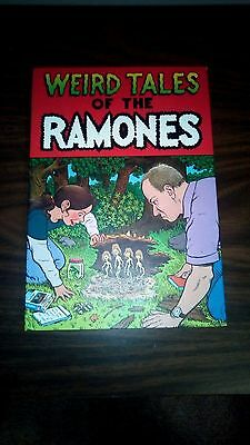 Weird Tales of the Ramones Complete 4 disc collectors edition with comic book in
