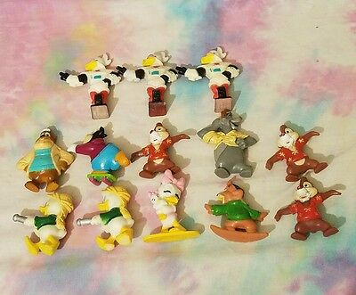 Disney Afternoon Kellogg's Figures Talespin Rescue Rangers Ducktales