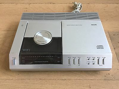 Vintage Philips CD-100 CD Player with Original Booklet.