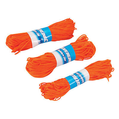 Orange Builders Setting Marking Out Brick Laying Lines 20m 3PK (250408)