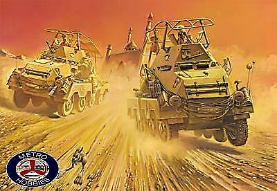 Roden 1/72 German Sd Kfz 263 Heavy Armored Car RO708 Brand New