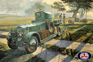 Roden 1/35 WWII British Armoured Car Pattern 1920 Mk.I RO801 Brand New